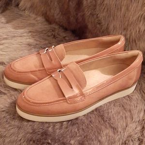 Naturalizer loafers.Trending pink, neutral. 10